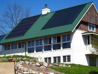 acushnet alternative heating, solar panels, solar panels on a house